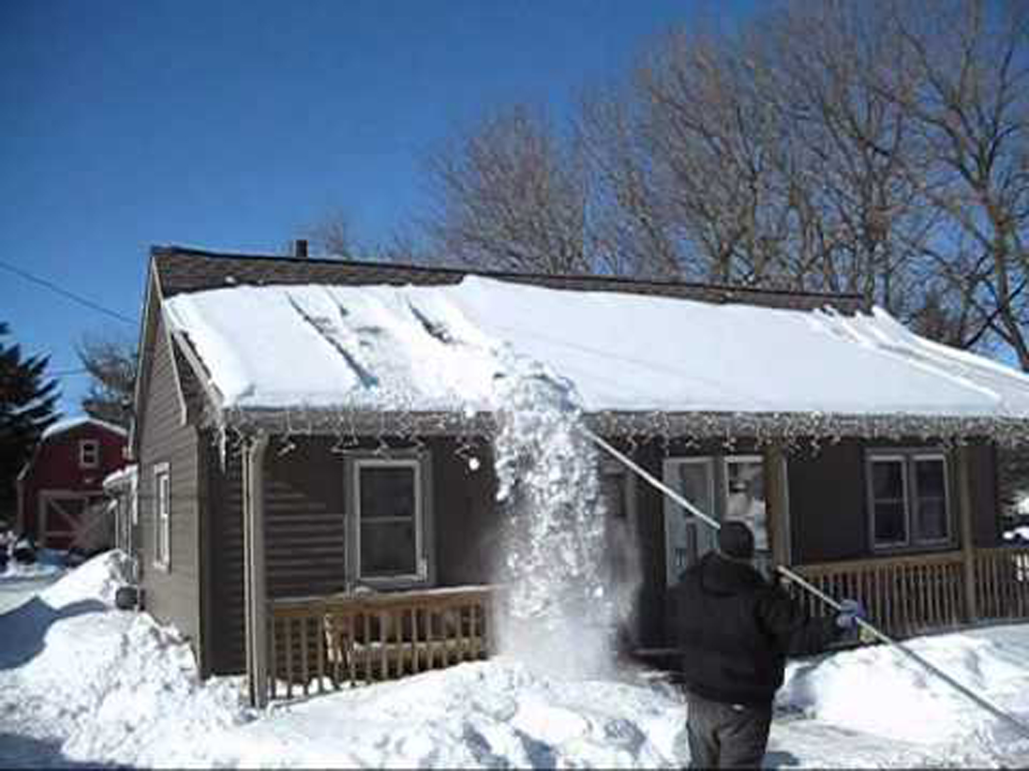 Snow On The Roof Take Care Canadian Residential